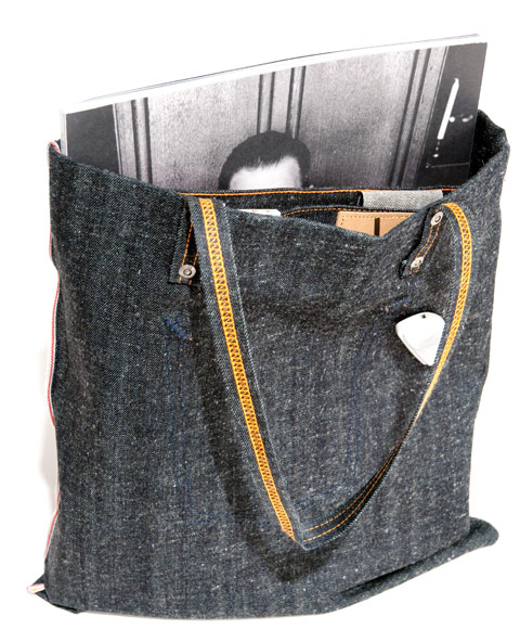 Dry Selvage Tote Bag