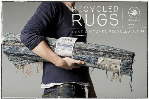 Nudie Jeans Recycled Rugs Gallery
