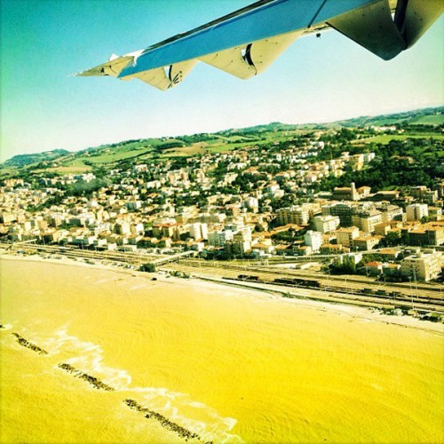 Touching down in Ancona, the city almost fits in your palm.
